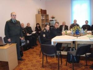 Meeting mit Departement Strafvollzug Lviv